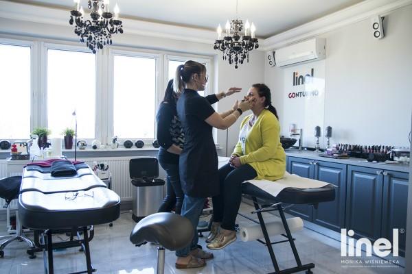 szkolenia linel tarnowskie góry brwi ombre makijaż permanentny monika wiśniewska pigmentacja medyczna